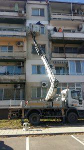 Услуги с автовишка под наем Пловдив